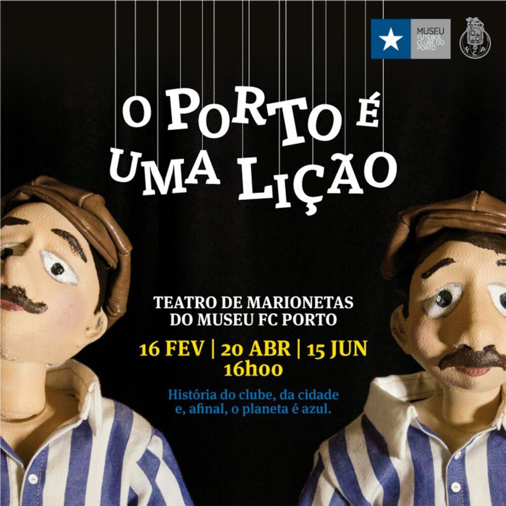 Teatro de Marionetas: O Porto é uma Lição