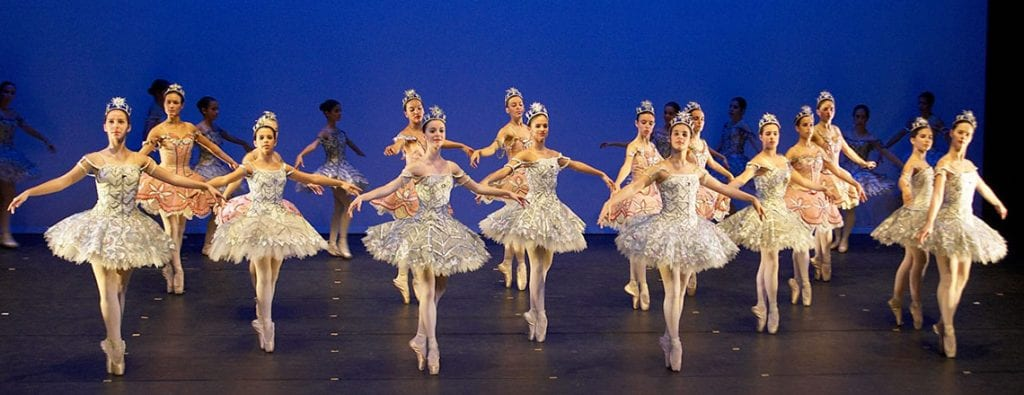 Aula de ballet clássico