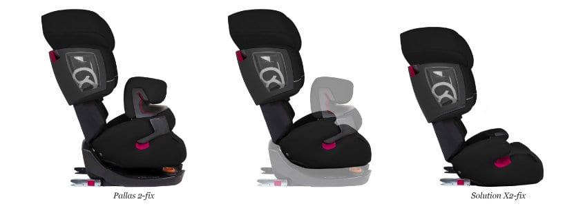 cadeira auto grupo 1 2 3 - mudança