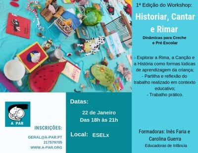 "Workshop ""Historiar, Cantar e Rimar"""