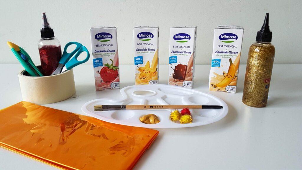 Enfeites de natal com material reciclado - material janelas