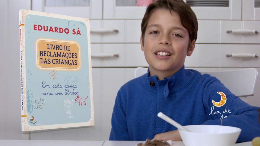 livro de reclamações das crianças