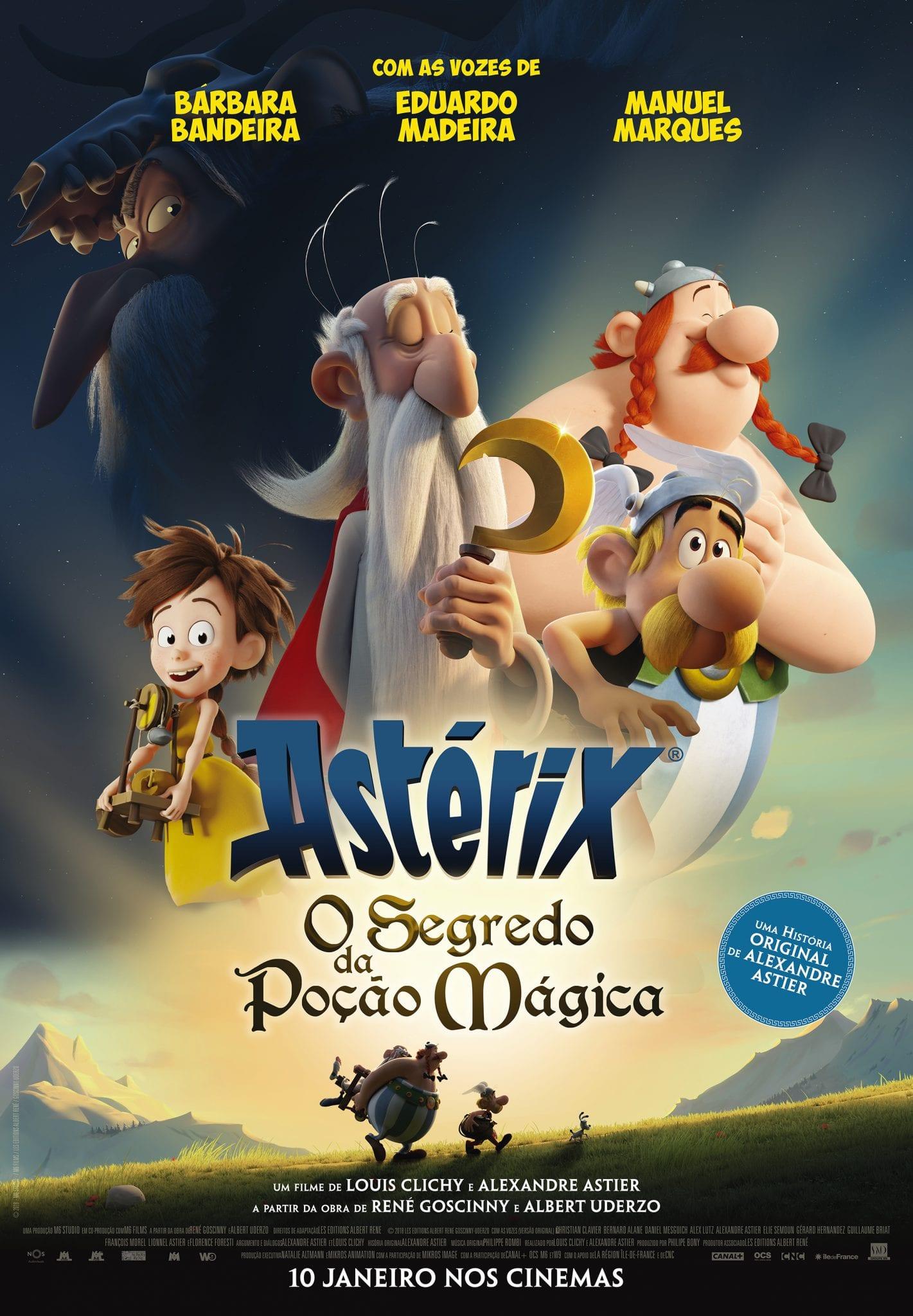 Poster Astérix: O Segredo da Poção Mágica
