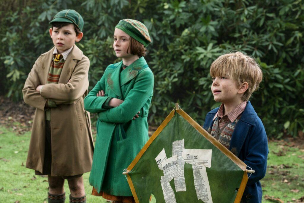 O Regresso de Mary Poppins Crianças Banks
