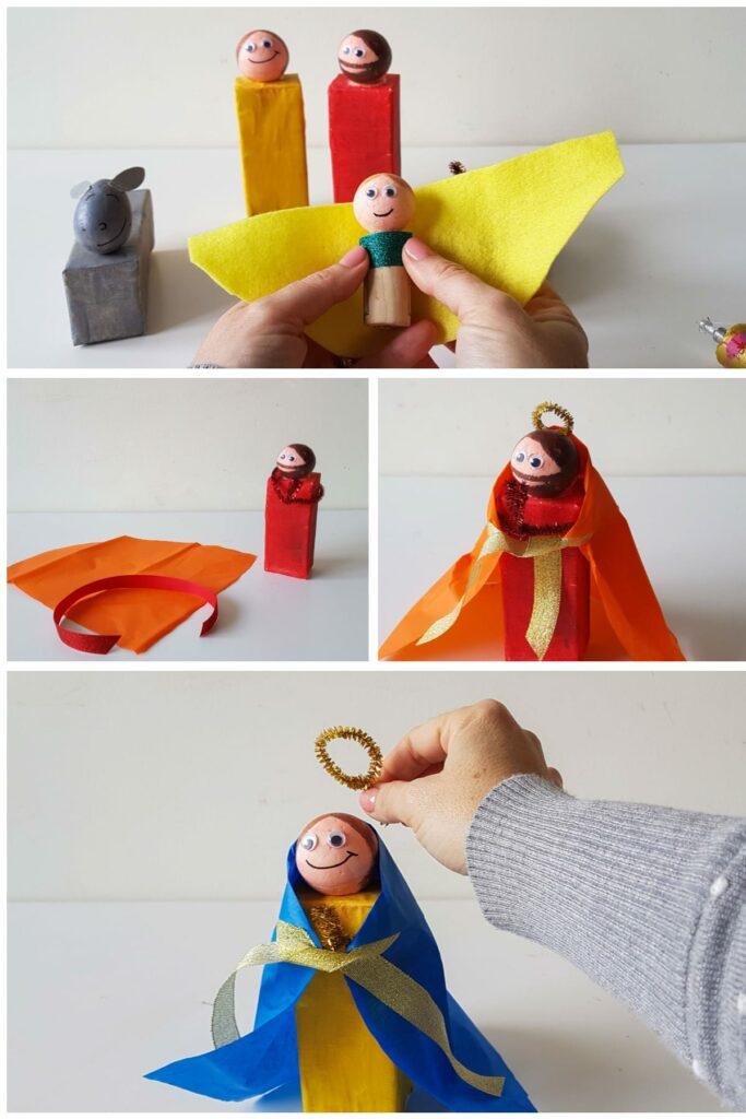 Presepio reciclado - decorar