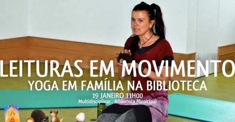 Leituras em Movimento – Yoga em Família na Biblioteca