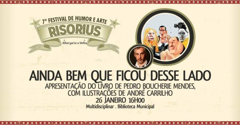 RISORIUS | Apresentação do livro de Pedro Boucherie Mendes