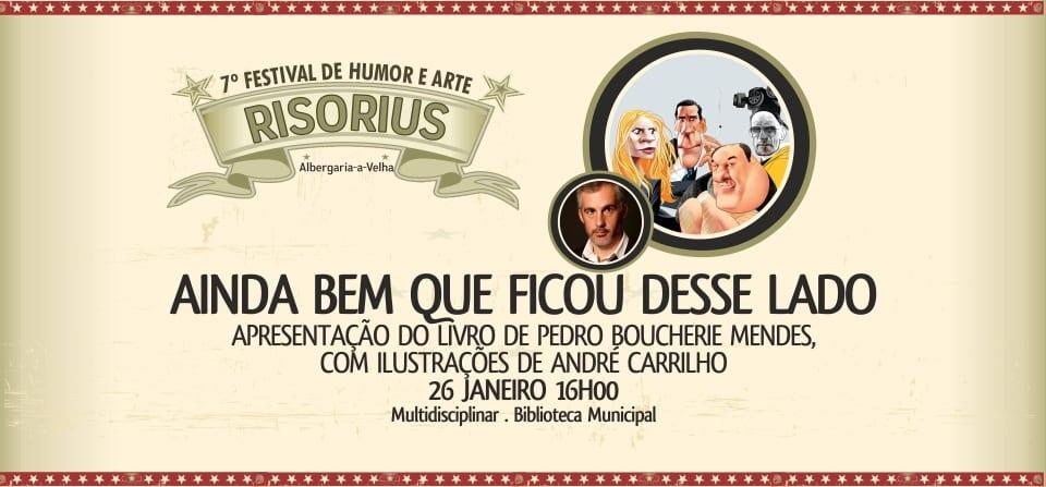 RISORIUS | AINDA BEM QUE FICOU DESSE LADO