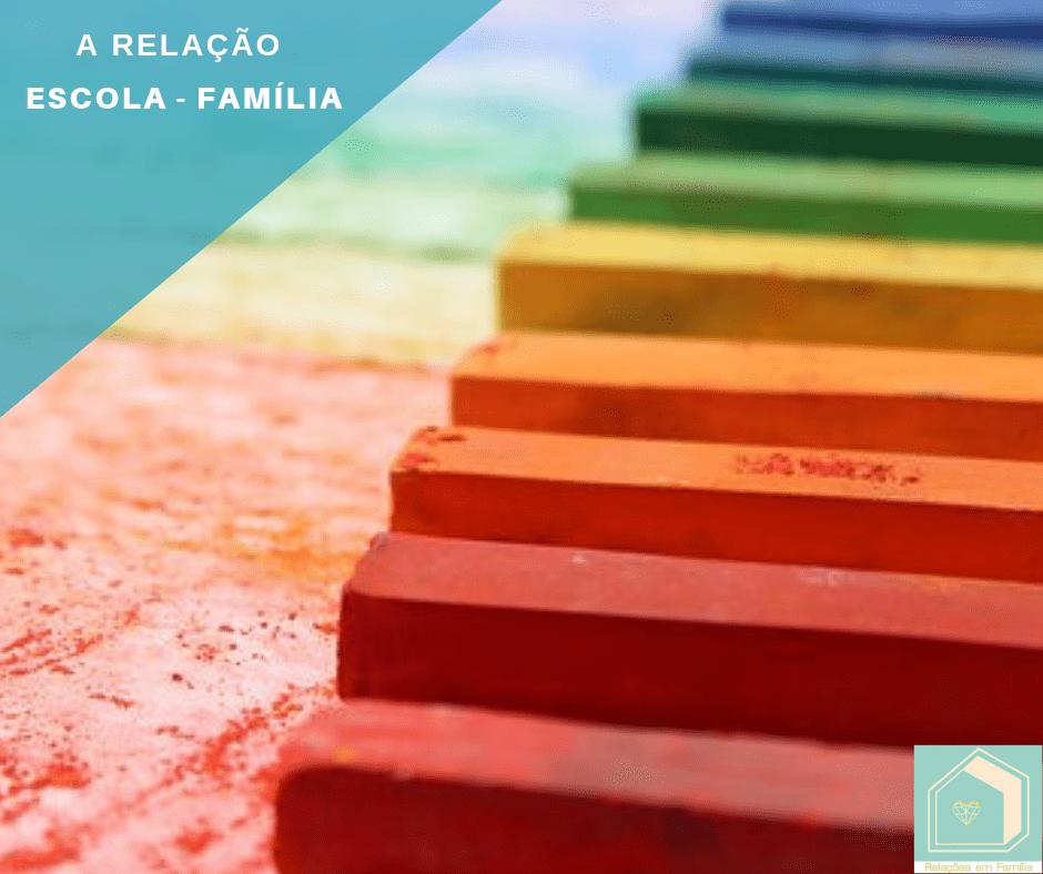 A Família e a Escola: uma relação para a vida