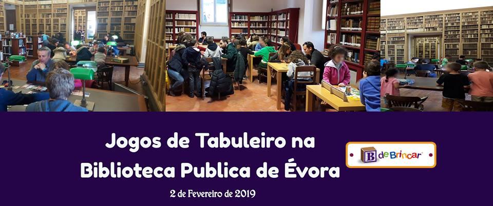 Jogos de Tabuleiro na Biblioteca Pública de Évora