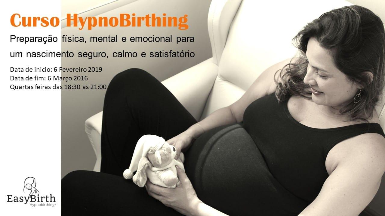 Curso HypnoBirthing – Preparação para o parto