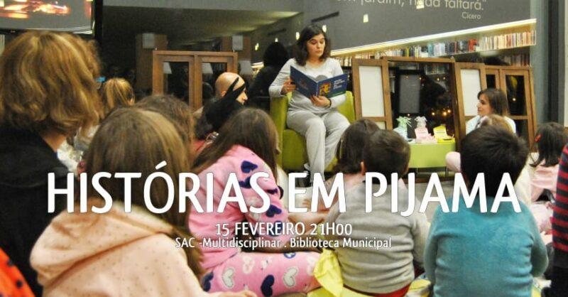 História em Pijama no Dia Internacional do Amor