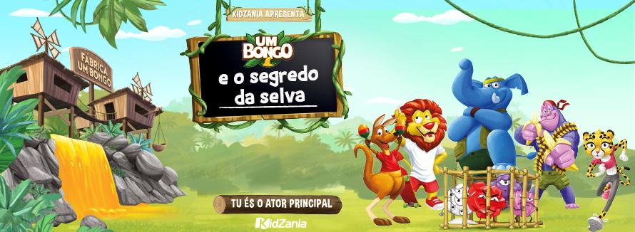 Um Bongo e o Segredo da Selva