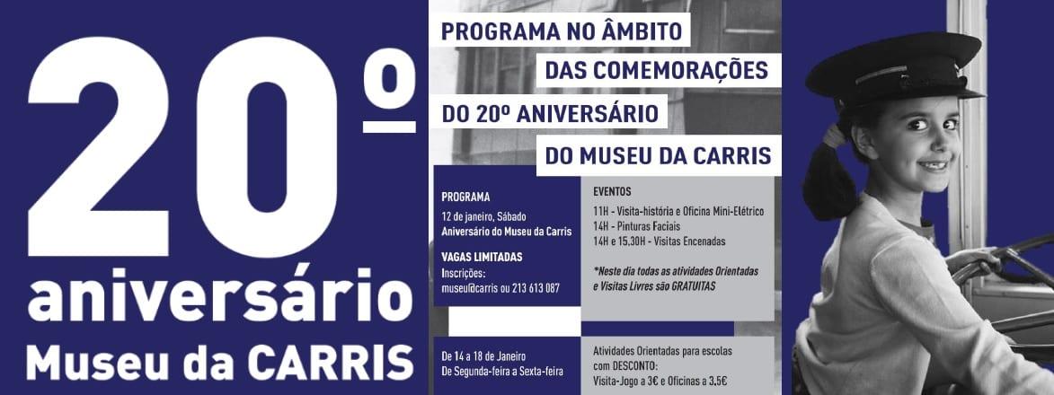 20º Aniversário do Museu da CARRIS