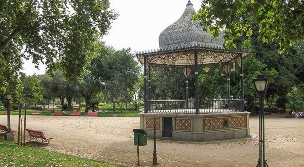 jardim público de évora