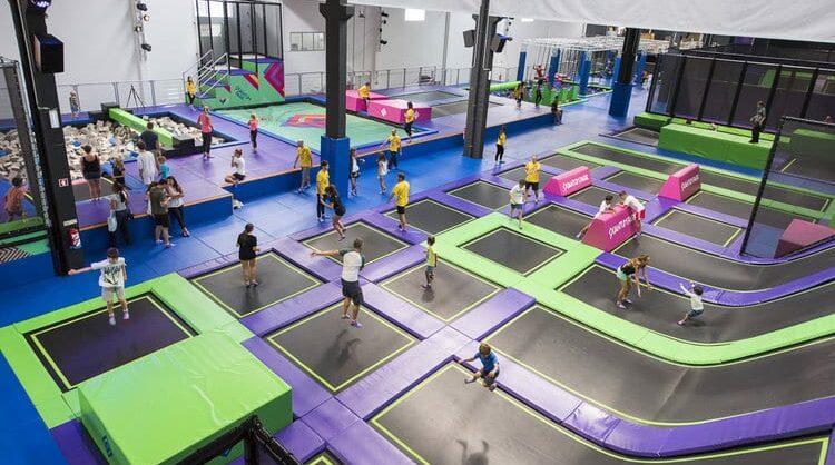 Quantum Park: um parque indoor para os alunos mais radicais!