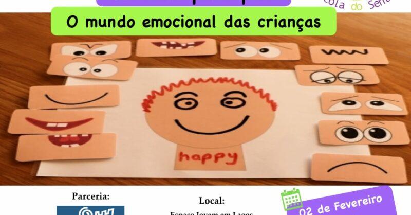 """""""O mundo emocional das crianças"""" – Tertúlia para Pais"""