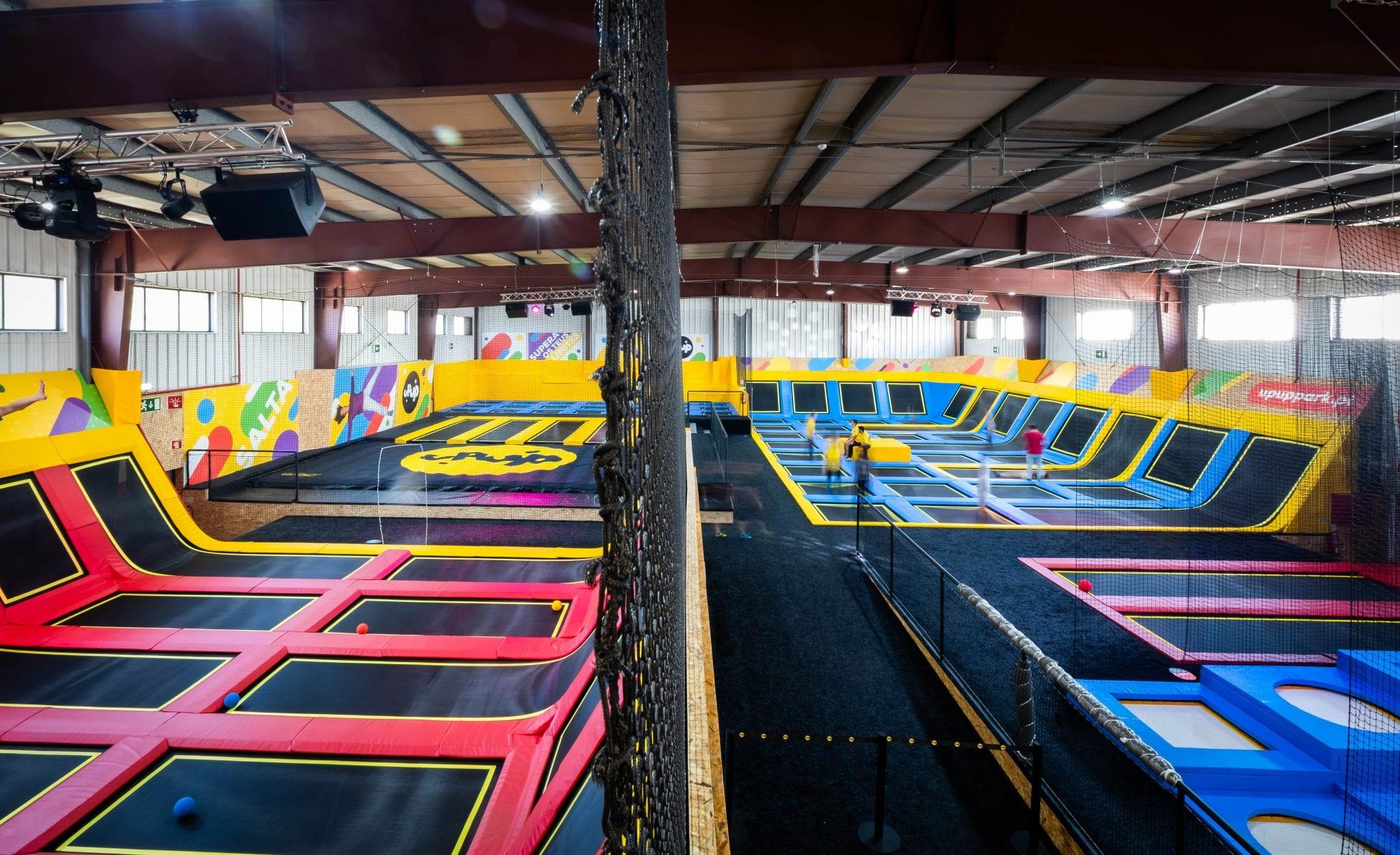 trampolins lisboa - upup park