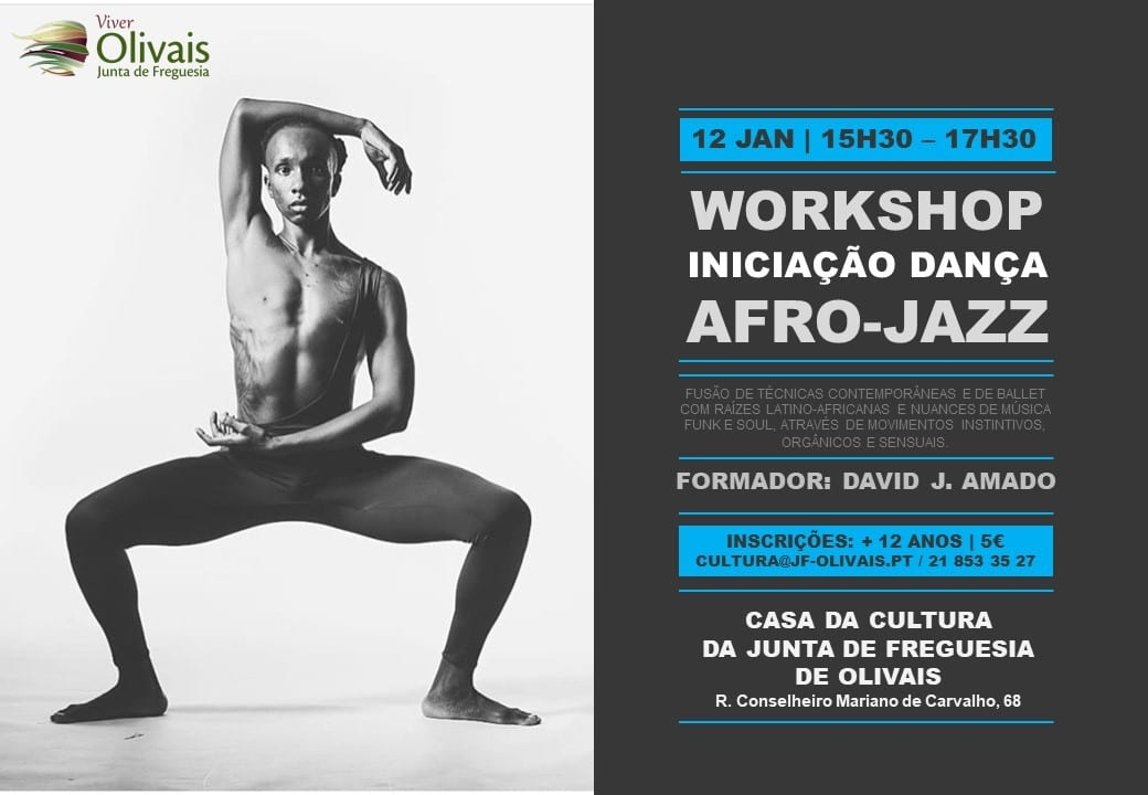 WORKSHOP Dança Afro-Jazz