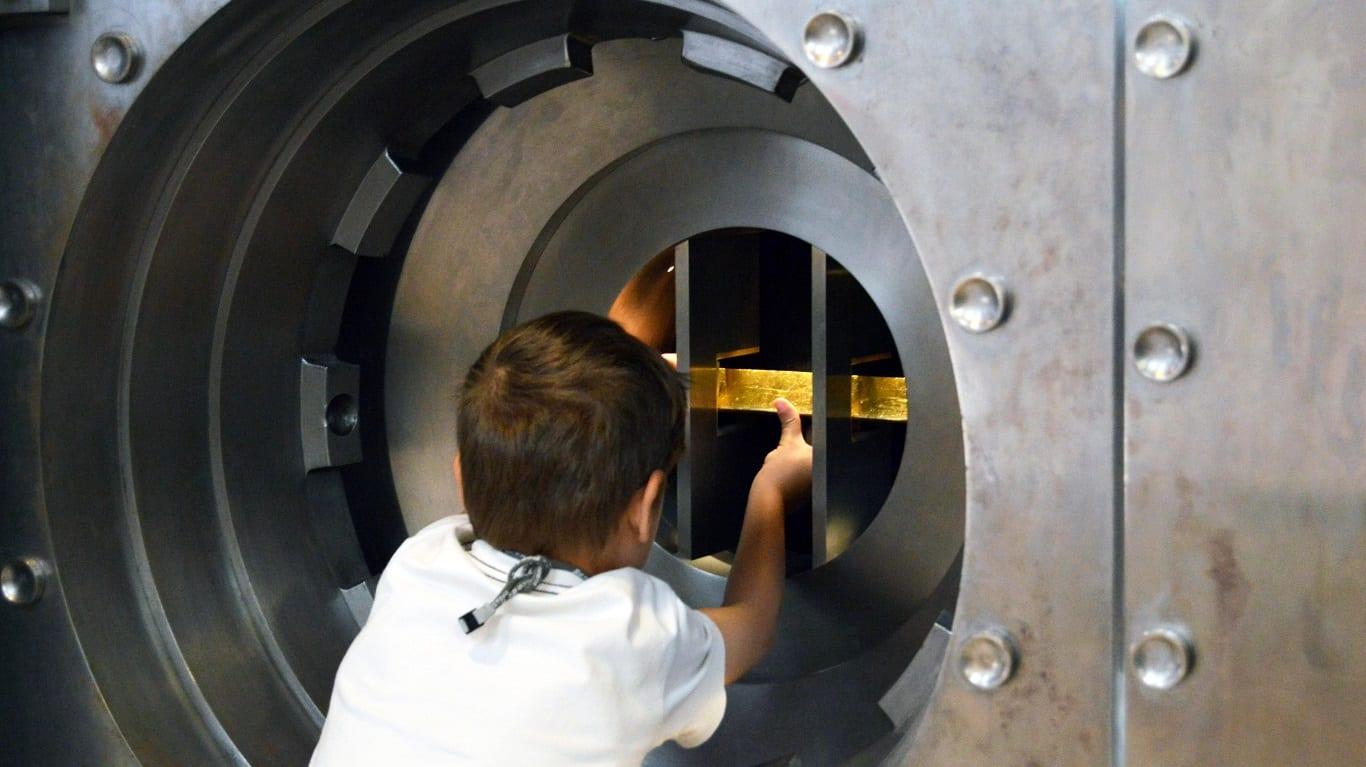 Segredos, Cofres e Casas-fortes | Oficina para pais e filhos no Museu do Dinheiro