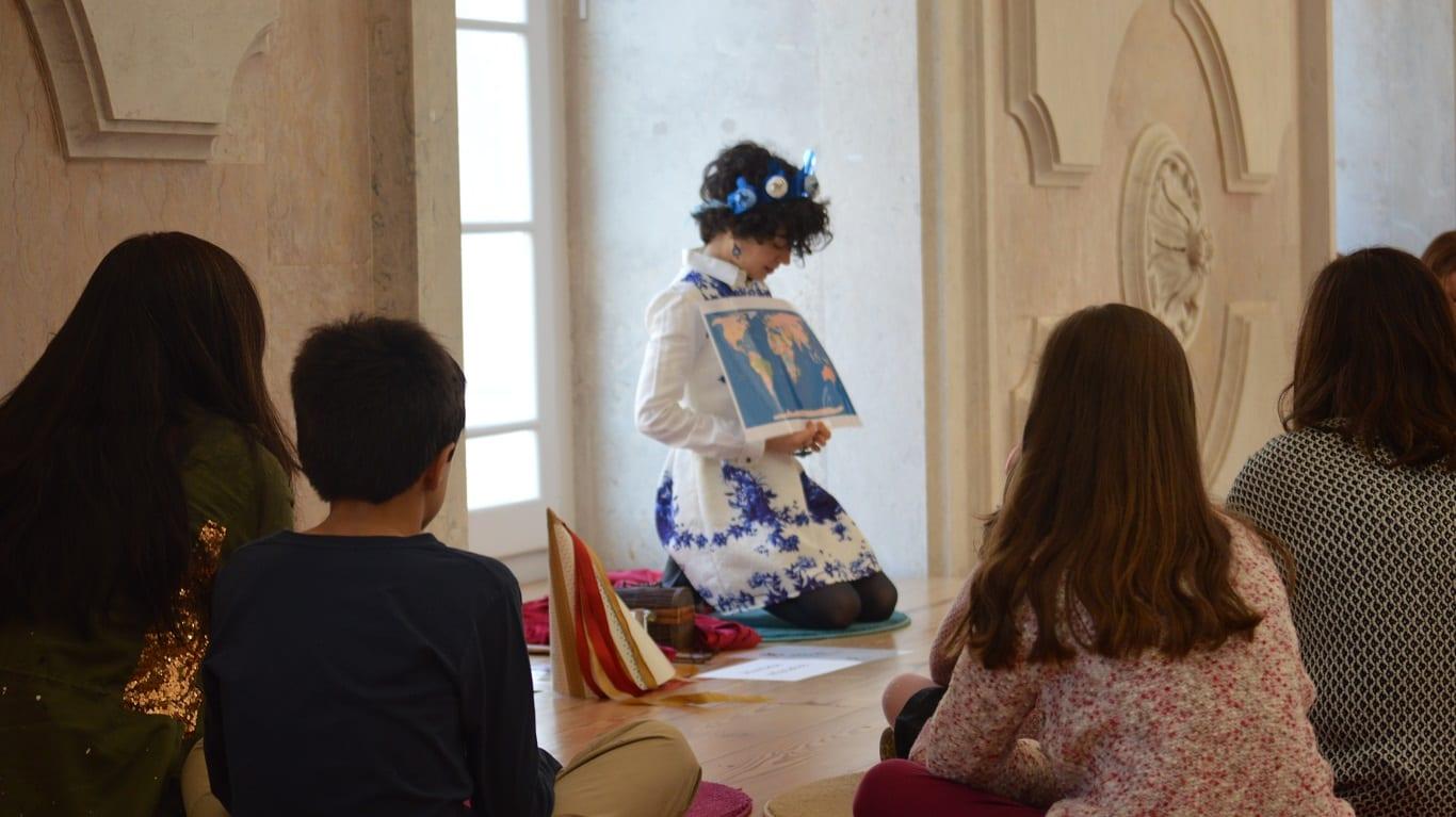 Reis e Rainhas de Portugal   Oficina para pais e filhos no Museu do Dinheiro