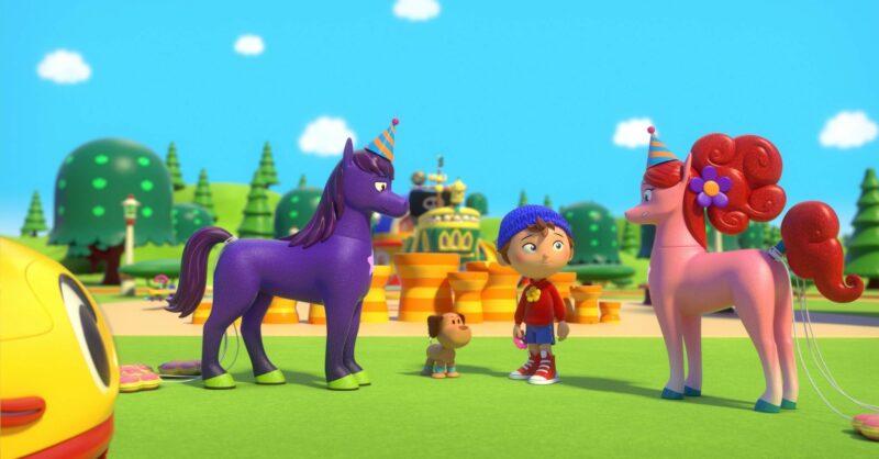 Noddy detetive é uma produção da DreamWorks