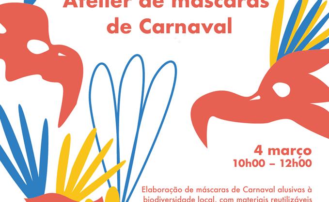 Atelier de máscaras de Carnaval nos Açores