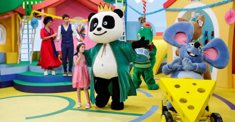 Programação de Carnaval do Canal Panda