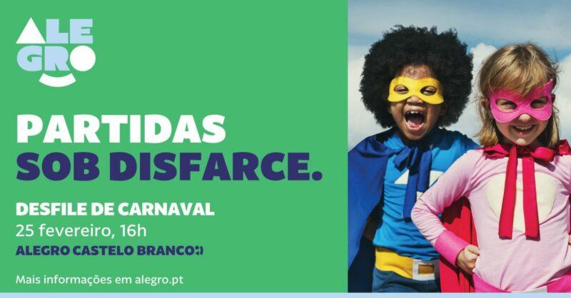 Desfile de Carnaval do Alegro Castelo Branco