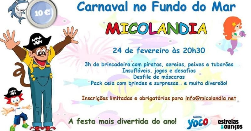 Festa de Carnaval na Micolandia