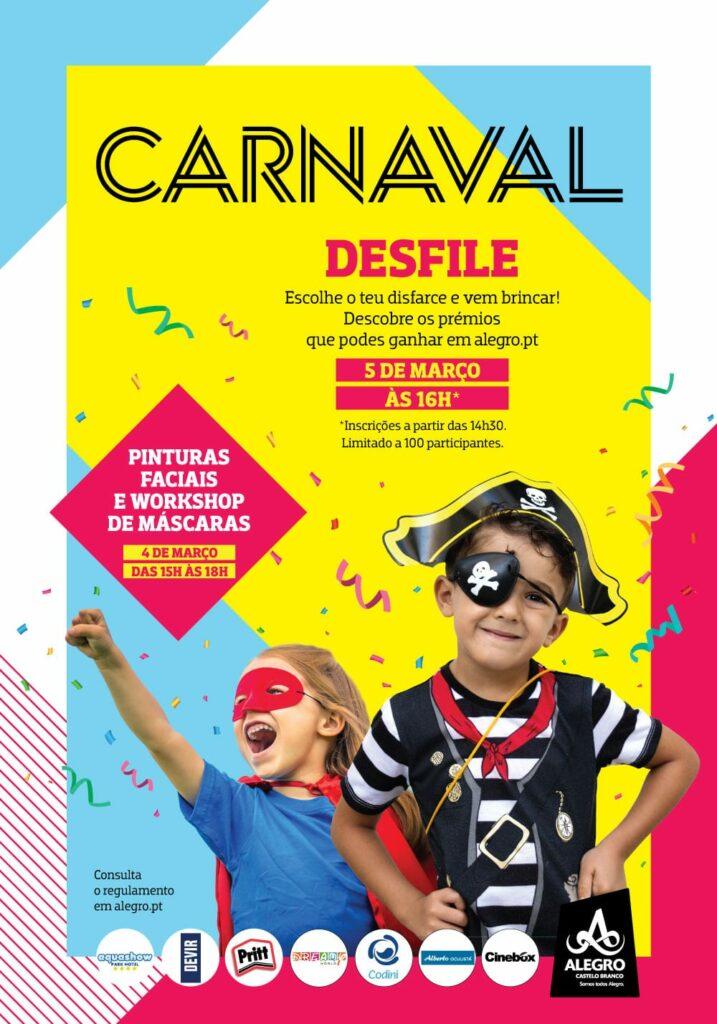 Cartaz_Desfile de Carnaval no Alegro Castelo Branco