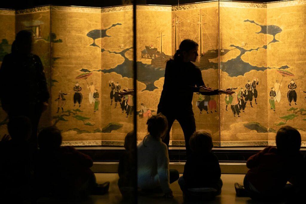 As personagens ganham vida no Museu do Oriente