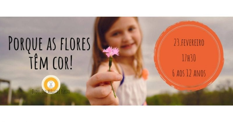 Porque as flores têm cor?