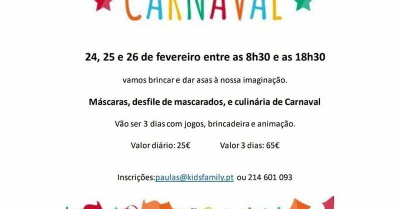 Carnaval em festa com a Spot Kids & Family