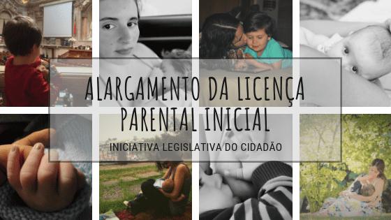 alargamento da licença parental inicial