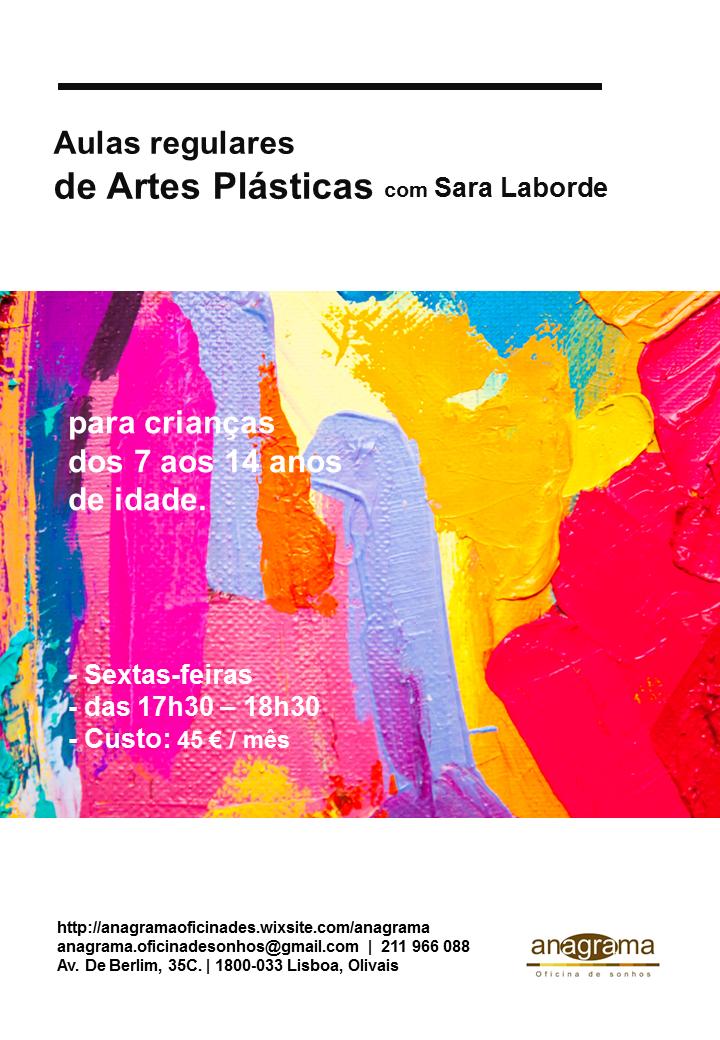 Aulas Regulares de Artes Plásticas