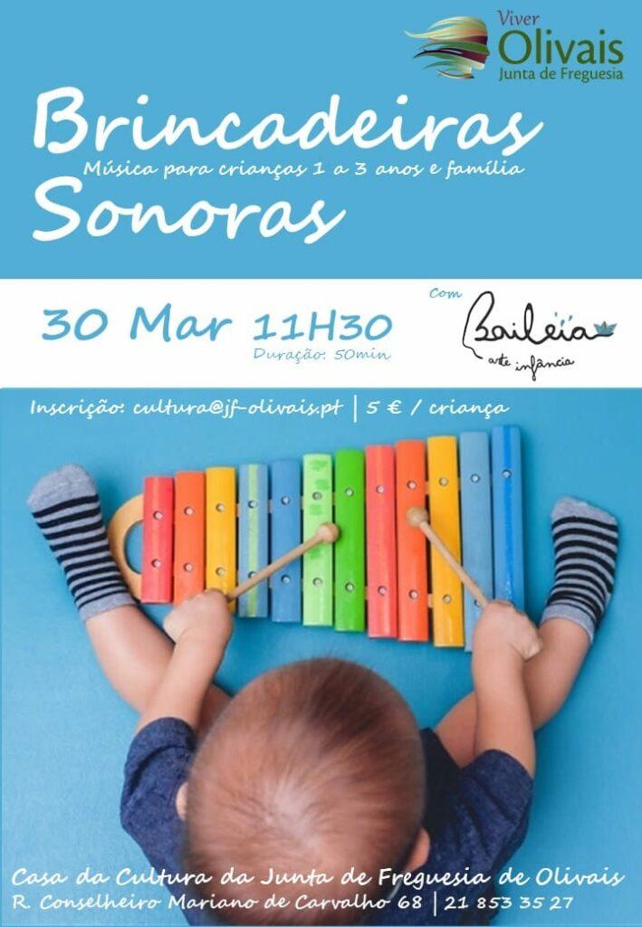 OFICINA Brincadeiras Sonoras – música para bebés