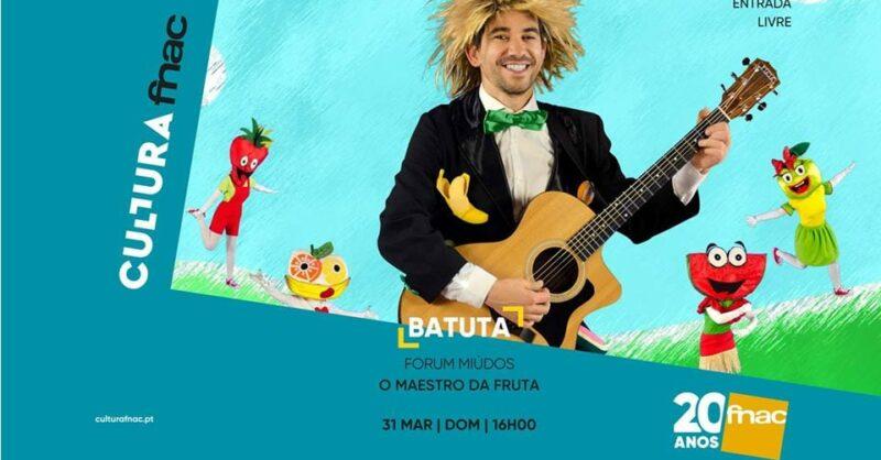 Batuta lança o seu primeiro álbum na FNAC Viseu