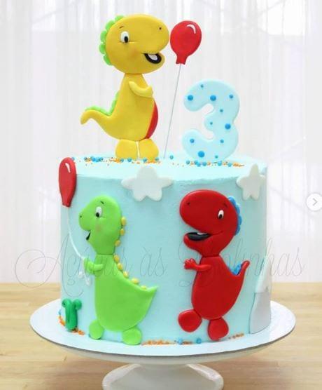 bolos personalizados açucar às bolinhas