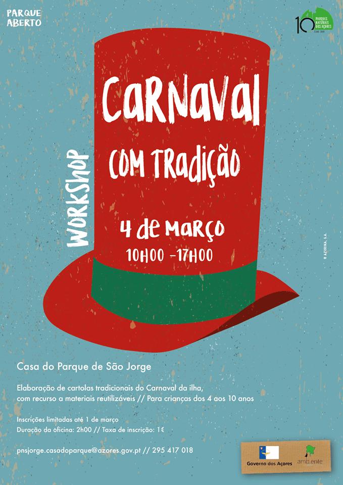 carnaval com tradição parque natural dos açores