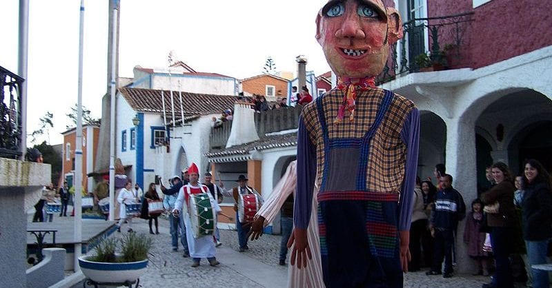 carnaval em portugal