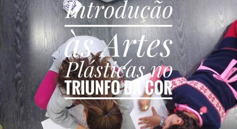 Oficina de Introdução às Artes Plásticas para crianças