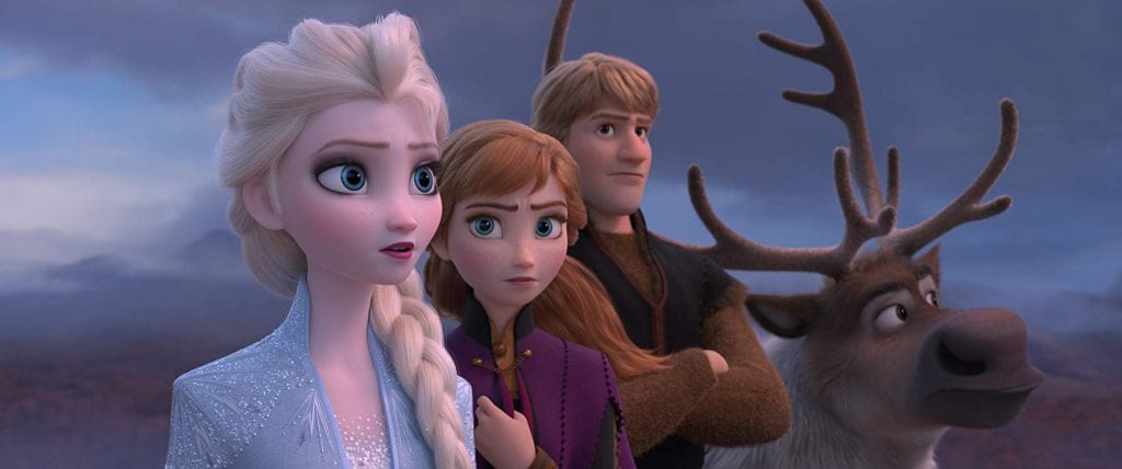 frozen 2 -personagens
