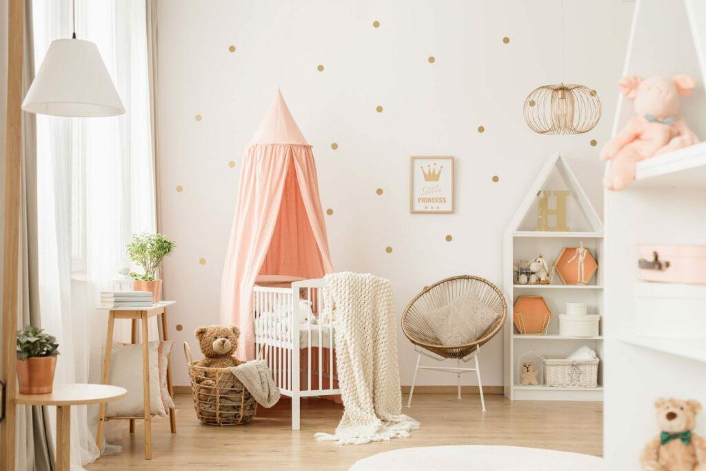 quarto do bebé luz