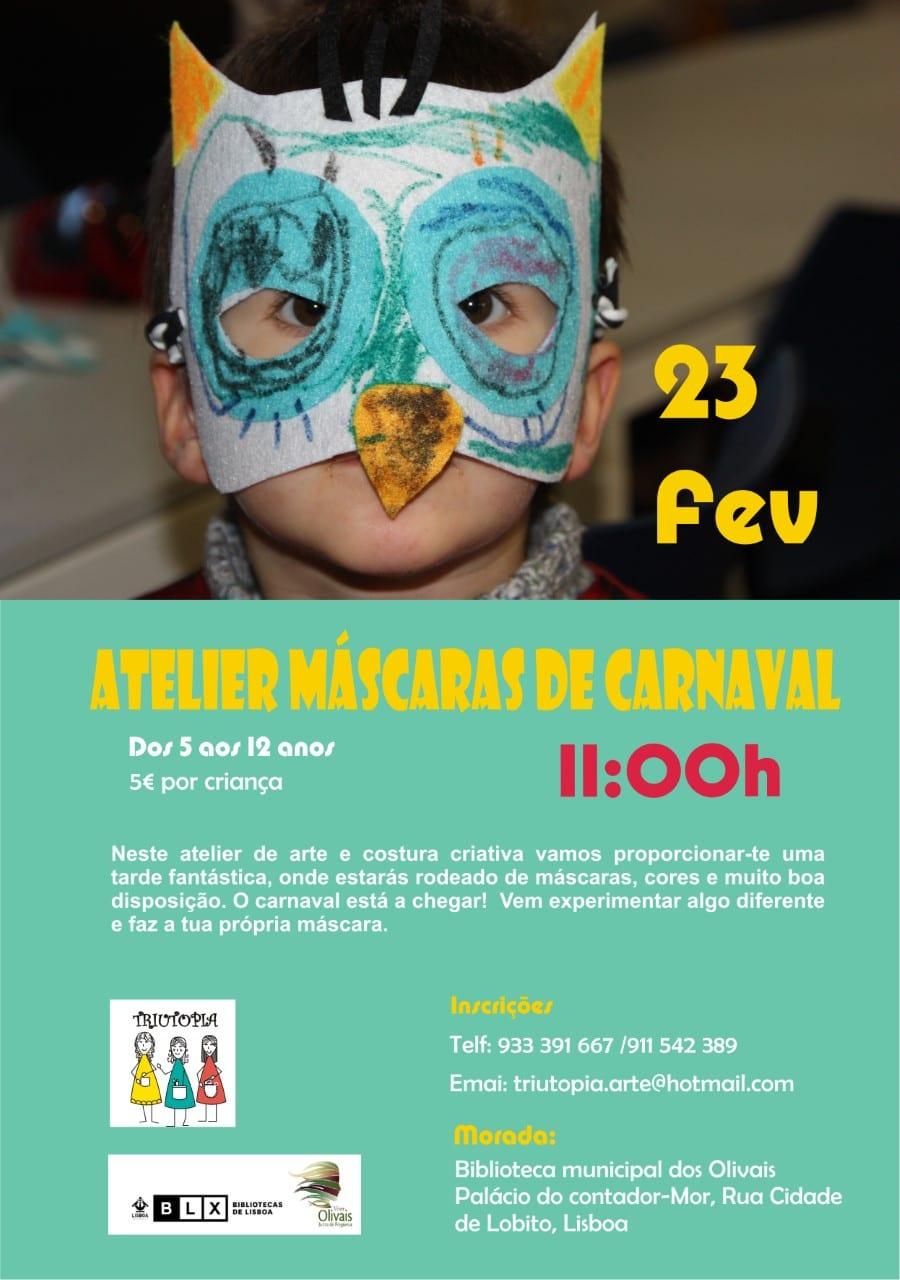 Atelier Máscaras de Carnaval