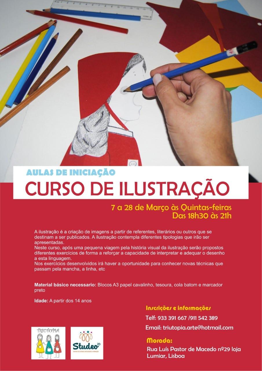 Curso de Ilustração- Iniciação