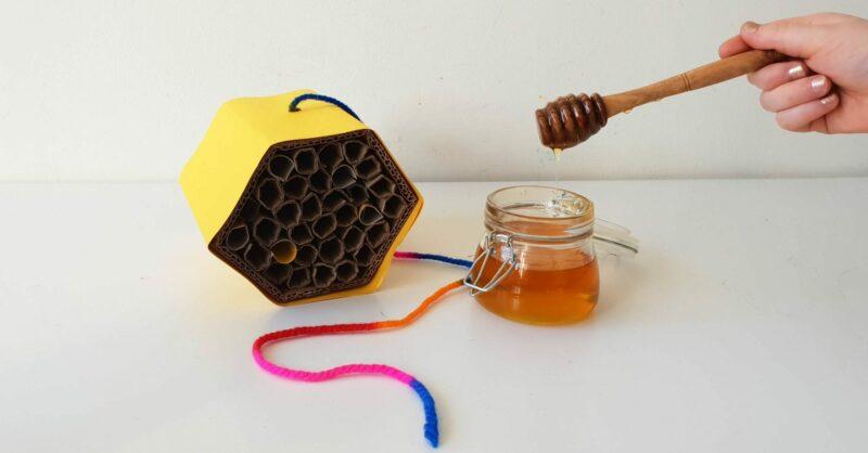 passo a passo hotel de abelhas