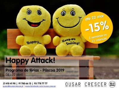Happy Attack! Páscoa 2019