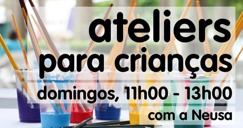 Ateliers para Crianças no Dolce Vita Miraflores