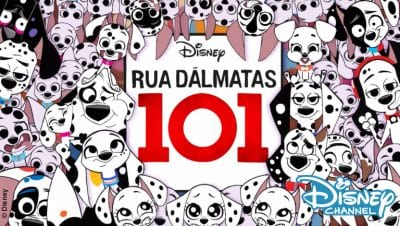 Banner Rua Dalmatas 101 Disney channel
